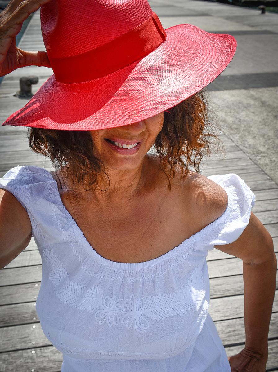 Panama rouge